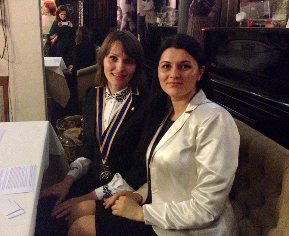 тренер Наталия Махно гест спикер Rotary Club Kyiv - Sophia