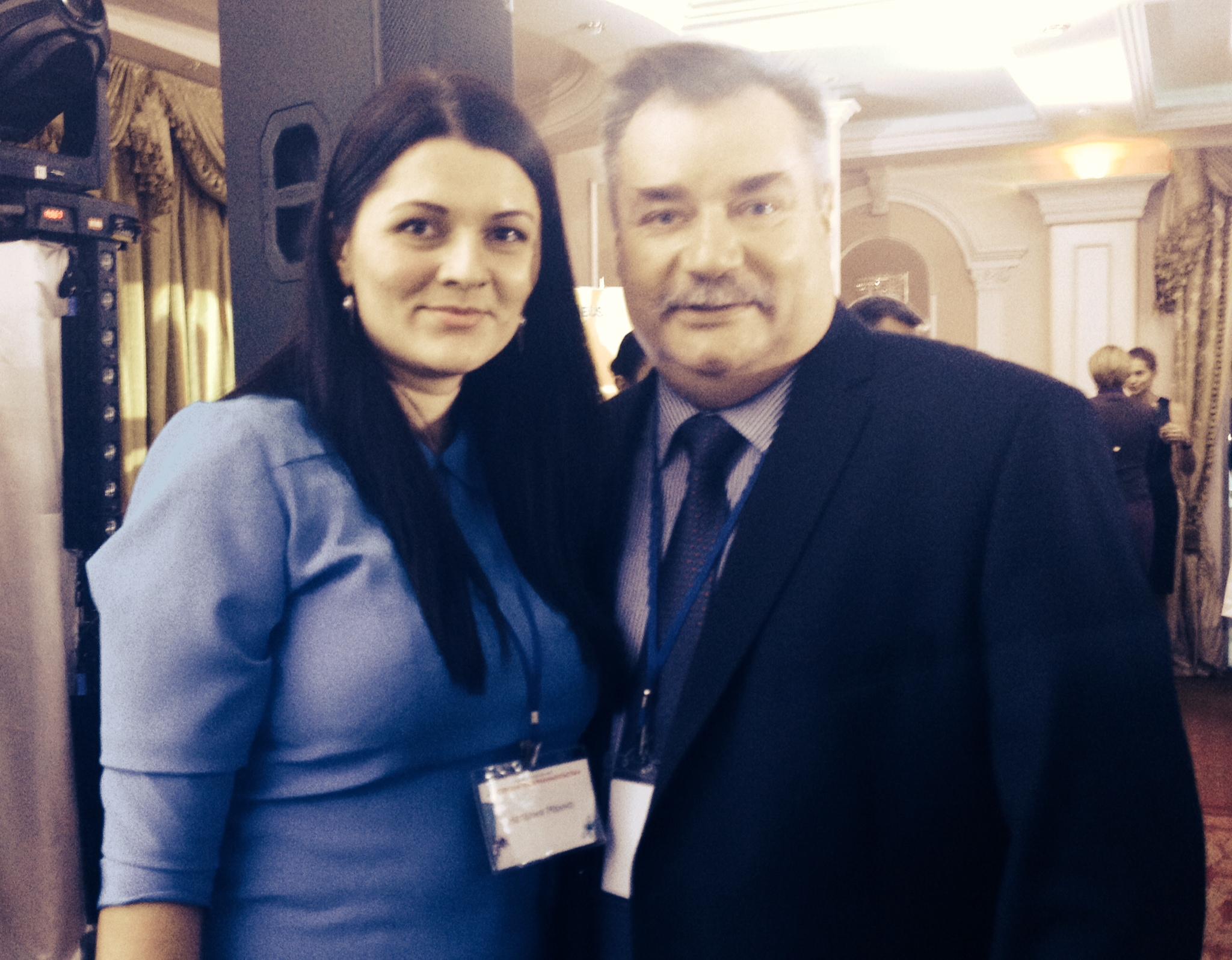 тренер Наталия Махно на конкурсе Предпринимательский Талант Украины